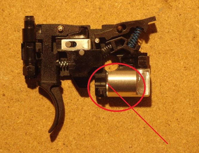 Tippmann M4 Carbine Export Kit Abzug offen