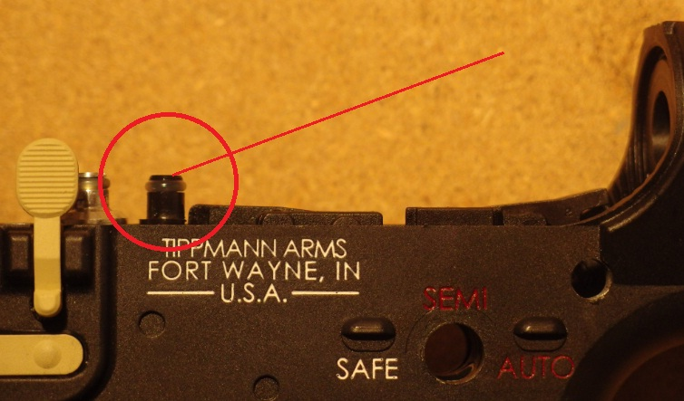 Tippmann M4 Carbine Export Kit Abzug ohne rof