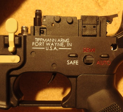 Tippmann M4 Carbine Export Kit Abzug raus