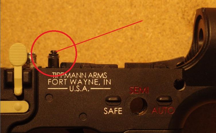 Tippmann M4 Carbine Export Kit Abzug rof