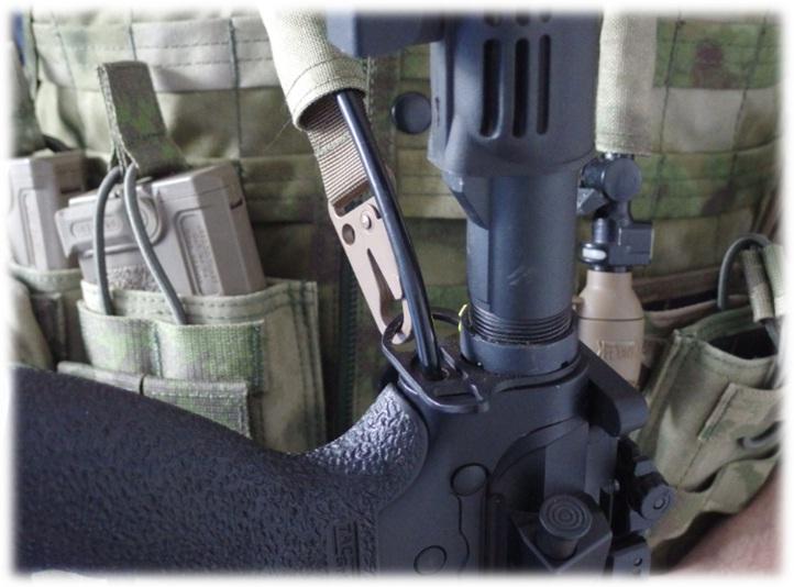 Tippmann M4 Micro Line Trageweise 1
