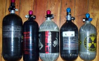 Wie viele HPA Flaschen benötige ich zum Spielen